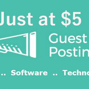 Guest post in technology blog